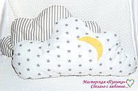 Подушка, бортик в кроватку