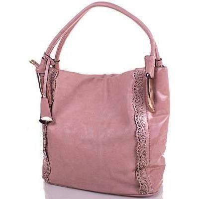 Женская бежевая сумка из качественного кожезаменителя ANNA&LI (АННА И ЛИ) TUAL0488-12