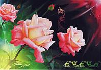 Фотообои из бумаги для стен 268*194 см , 16 листов, Цветы, Миниатюра