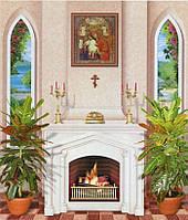 Фотообои из бумаги для стен 201*242 см , 15 листов, Архитектурные сооружения, Домашний Очаг