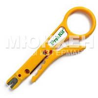 Стриппер для витой пары Pro'sKit 8PK-CT001, с лезвием 110 для расшивки кабеля на кросс