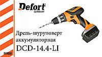 Дрель-шуруповерт аккумуляторная Defort DCD-14.4-Li
