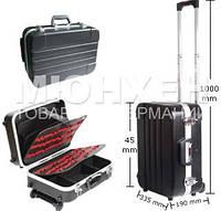 Кейс для инструментов Pro'sKit TC-311, пластик, Д. 450 мм, Ш. 335 мм, В. 190 мм, на колесиках