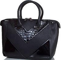 Женская сумка из искусственной кожи высокого качества  ANNA&LI (АННА И ЛИ) TU14623-black (черный)