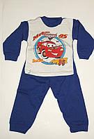 Пижама на мальчика байка синяя Тачки Украина.