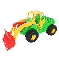 Детский трактор большой с ковшом Орион