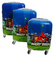 Дорожний чемоданя для ребенка Angry Birds