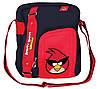 """Трендовая сумка на каждый день для парня """"Angry Birds"""" Cool for school AB03861 черный/красный"""