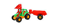 Детский трактор  с прицепомОрион