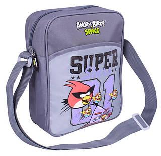 """Универсальный школьный мессенджер через плечо """"Angry Birds"""" Cool for school AB03865 серый/принт"""