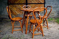 Комплект мебели из дуба