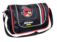 """Отличная сумка в школу для подростка """"Angry Birds"""" Cool for school AB03851 черный/принт"""