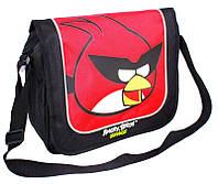 """Молодежная сумка через плечо """"Angry Birds"""" Cool for school AB03863 черный/принт"""