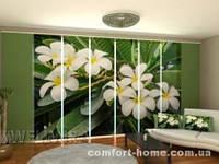 Панельная штора Тропический кустарник комплект 8 шт