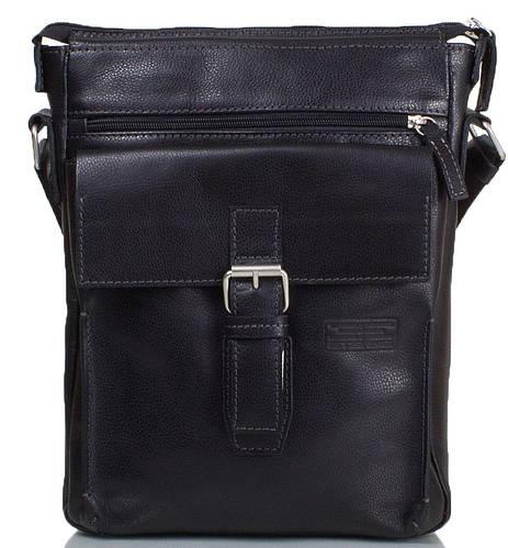 Стильная мужская сумка-планшет из натуральной кожи ETERNO (ЭТЭРНО) ERM512B черный