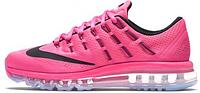 Женские кроссовки Nike Air Max 2016 (найк аир макс 2016) розовые