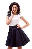 Платье женское атласный пояс в комплекте