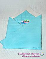 Плед конверт детский, для новорожденного