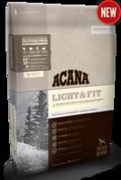 Беззерновой сухой корм для взрослых собак с избыточным весом Acana Light & Fit 2 кг.