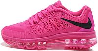 Женские кроссовки Nike Air Max 2015 (найк аир макс 2015) розовые