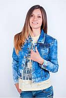 Джинсовая женская куртка TOS 159F001