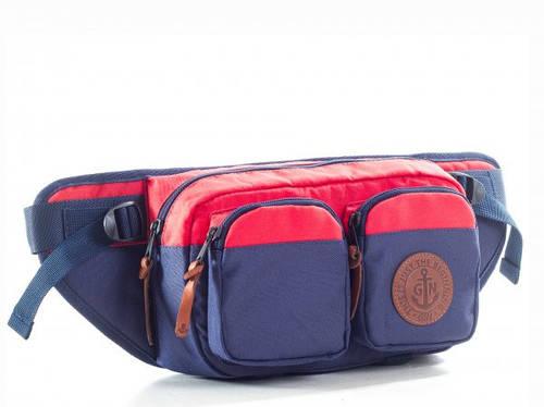 Поясная сумка GIN синий/красный 753951