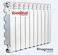 Алюминиевый радиатор 350х100 Fondital Exclusivo Италия