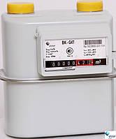 """Счетчик газа ELSTER BK G 4T мембранный бытовой «ElsterGroup» (Германия) Dn20 G¾"""" с температурным корректором"""