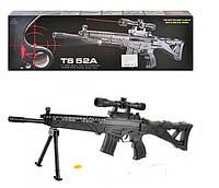 Автомат TS52A стреляет пульками, есть лазер и фонарик