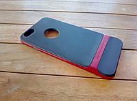 Гибридный чехол-накладка ROCK ROYCE для iPhone 6/6s Red