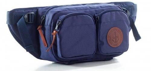 Поясная сумка GIN синий 753951