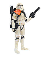 ! Уценка ! Фигурка  штурмовик в пустыне (командир) - Sandtrooper, The Black Series, #03, Hasbro, 15СМ