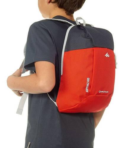 Городской вместительный детский рюкзак 5 л. Quechua ARPENAZ Kid 2033563 красный