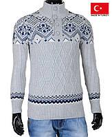 Теплый свитер, на пуговицах.Новая коллекция свитеров.