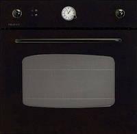 Встраиваемая электрическая духовка Telma Round FIN60 Black - 30 черного цвета