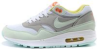 Женские кроссовки Nike Air Max 87 Premium (найк аир макс 87) белые