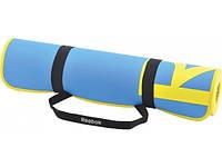 Коврик Reebok для аэробики и фитнеса (голубой) 1730х610х6 мм