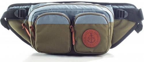 Поясная сумка GIN серый/хаки 753951