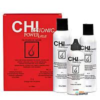 Шампуни CHI Набор CHI 44 Ionic Power Plus Hair Loss Kit от выпадения и для восстановления сухих и химически поврежденных волос 250 мл + 150 мл + 120