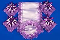 Венчальный набор фиолетовый