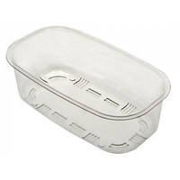 Прямоугольной формы коландер C 17.32 из прочной пластмассы от производителя Ukinox для кухонной мойки