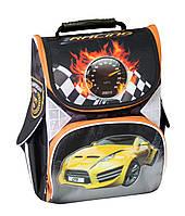 """Ранец каркасный ортопедический """"Yellow car"""" 85661 Cool For School"""