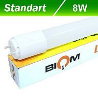 LED-Tube лампа BIOM T8 600мм 8W 4500К (стекло)