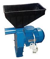 Зернодробилка для кукурузы Эликор 1 исполнение 3 (зерно + початки), 1.7 кВт/3000 оборотов