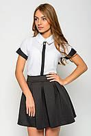 Женская стильная мини юбка-солнце (2 цвета)