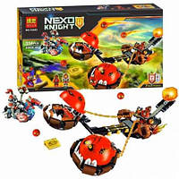 Конструктор Bela 10483  Nexo Knight (аналог Лего) Безумная колесница Укротителя Устрашающий разрушитель Клэя
