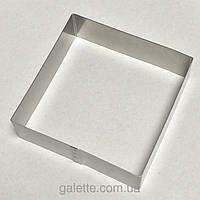 Форма(квадрат) для выпечки высота 5см,  20х20см (код 04531)