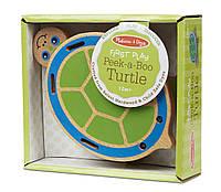 """Деревянная игрушка """"Поиграй в прятки с черепашкой"""", Melissa&Doug"""