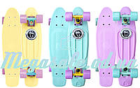 "Скейтборд/скейт пенни борд (Penny Board) пенни Pastels Siries ""Пастельные оттенки"" : 3 цвета, Fishskateboards"