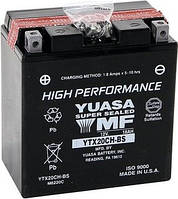 Аккумулятор, 12В 18А/ч, YTX20CHBS , YUASA